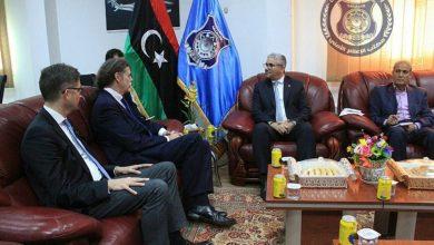 تعاون أمني بين ليبيا والمانيا