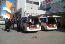 الصحة العالمية تمنح المستشفى الجامعي طرابلس سيارتان إسعاف وعناية فائقة