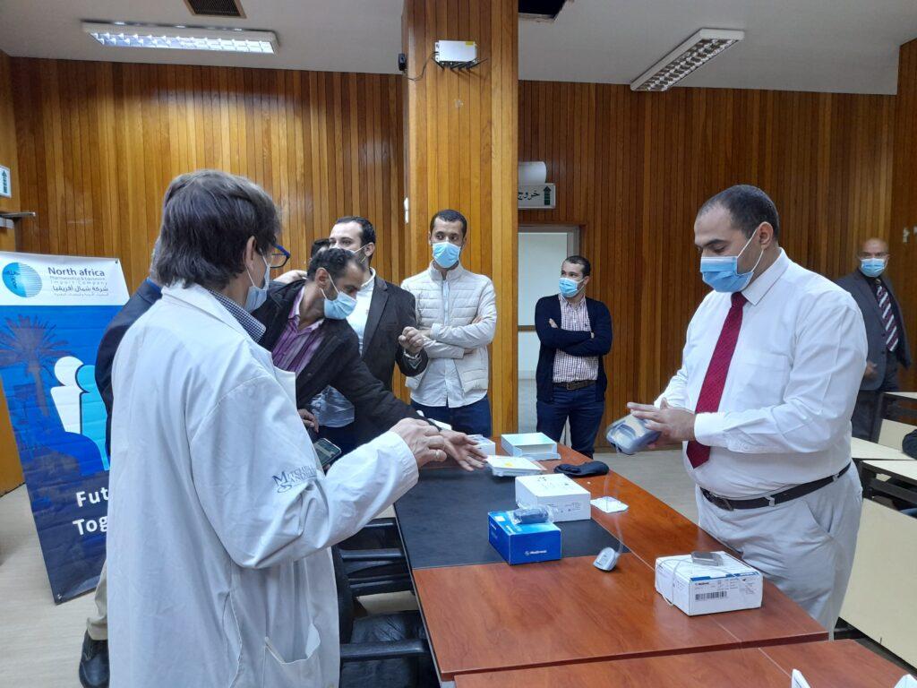 الاعلان عن بدء عيادة جراحة أمراض المخ والعمود الفقري الوظيفية باستخدام أجهزة علاجية متطورة